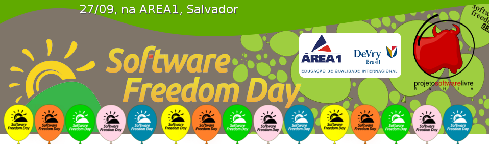 Banner Software Freedom Day - Salvador