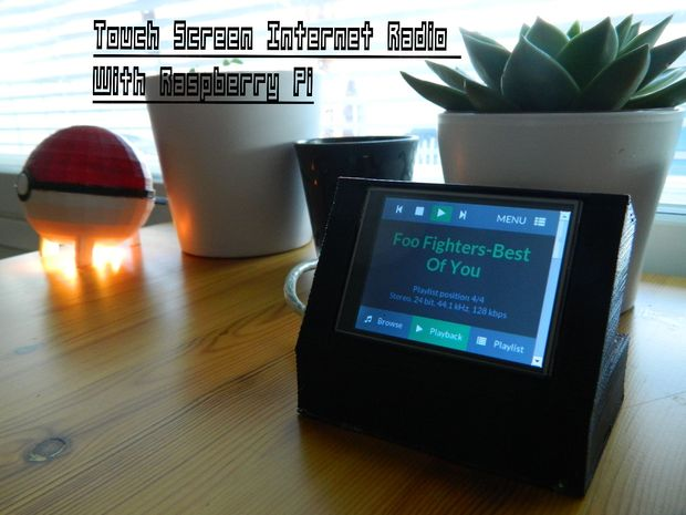 Build a Touchscreen Music Player with a Raspberry Pi - FISL16